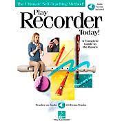 Hal Leonard Play Recorder Today (Book/CD)
