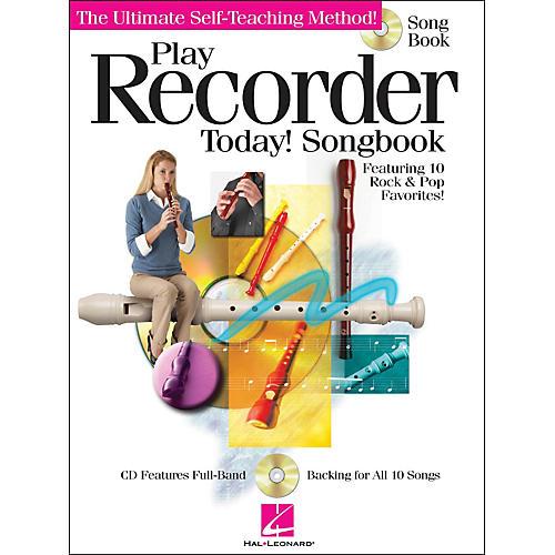 Hal Leonard Play Recorder Today! Songbook (CD/Pkg)