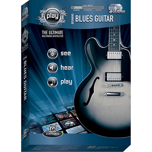 Alfred Play Series Beginning Blues Guitar (CD-ROM)-thumbnail