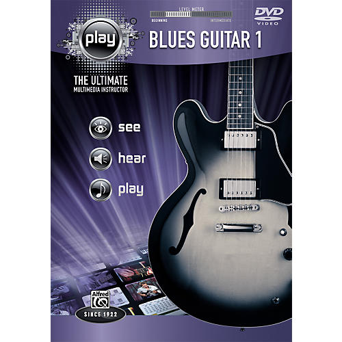 Alfred Play Series Blues Guitar 1 DVD