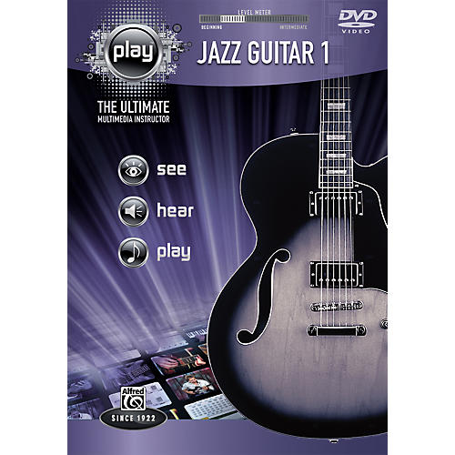 Alfred Play Series Jazz Guitar 1 (DVD)