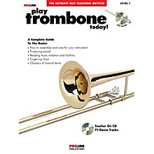 Proline Play Trombone Today Book/CD