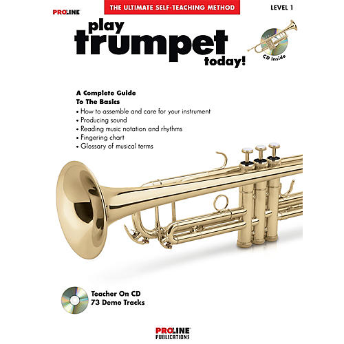 Proline Play Trumpet Today Book/CD-thumbnail