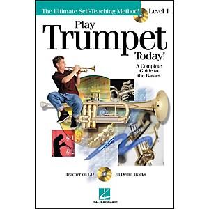 Hal Leonard Play Trumpet Today! Level 1 Book/CD by Hal Leonard