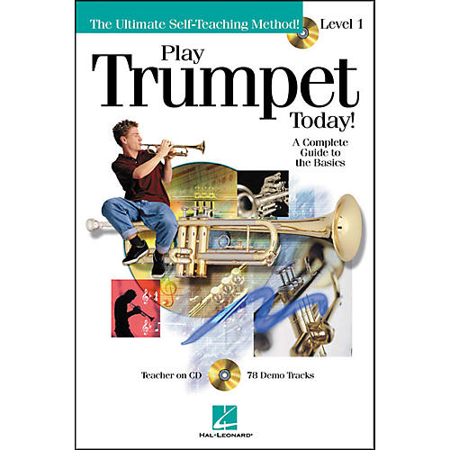 Hal Leonard Play Trumpet Today! Level 1 Book/CD-thumbnail