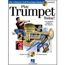 Hal Leonard Play Trumpet Today! Level 2 Book/CD