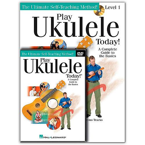 Hal Leonard Play Ukulele Today! Beginner's Pack (Book/CD/DVD)