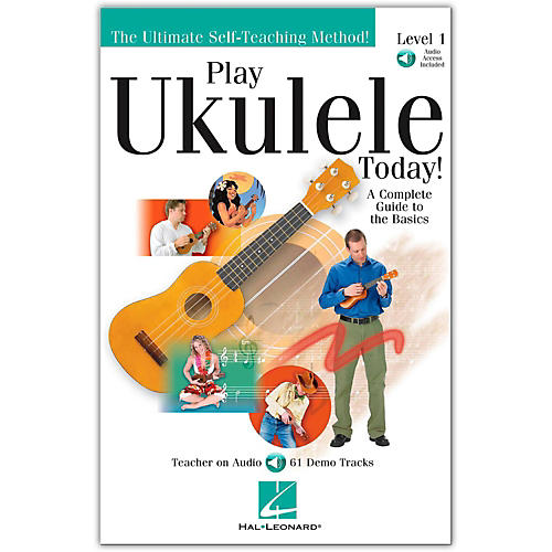 Hal Leonard Play Ukulele Today Level One (Book/CD)