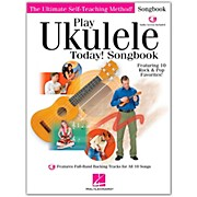 Hal Leonard Play Ukulele Today! Songbook Book/CD