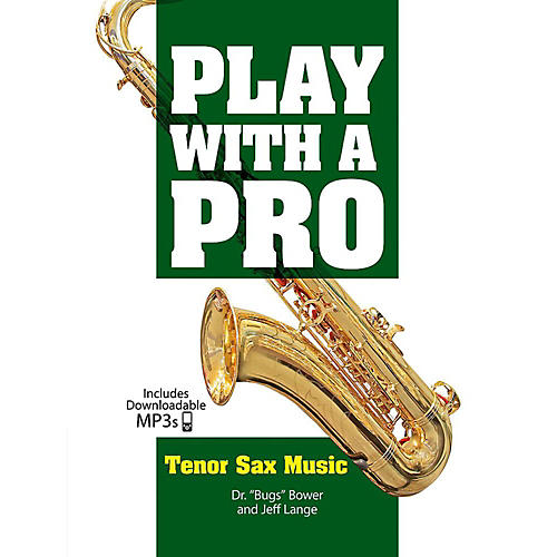 Alfred Play with a Pro: Tenor Sax Music - Book & MP3 Downloads-thumbnail