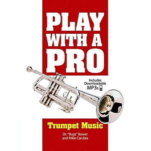 Alfred Play with a Pro: Trumpet Music - Book and MP3 Downloads by Alfred