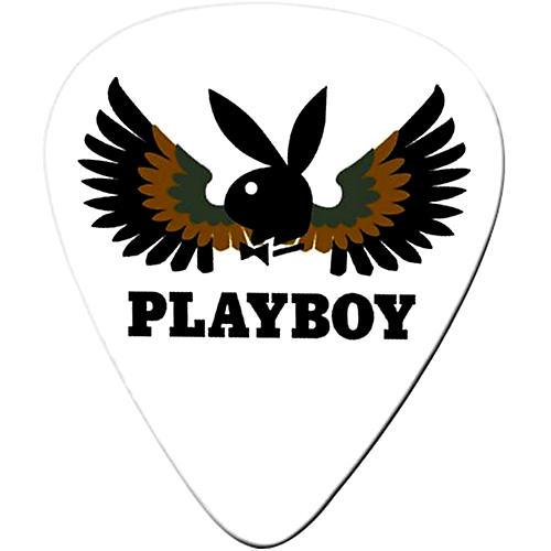 Clayton Playboy Wings Standard Guitar Picks 1 Dozen  Medium