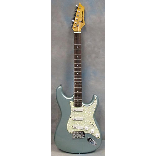 AXL Player Deluxe Solid Body Electric Guitar Teal Sparkle