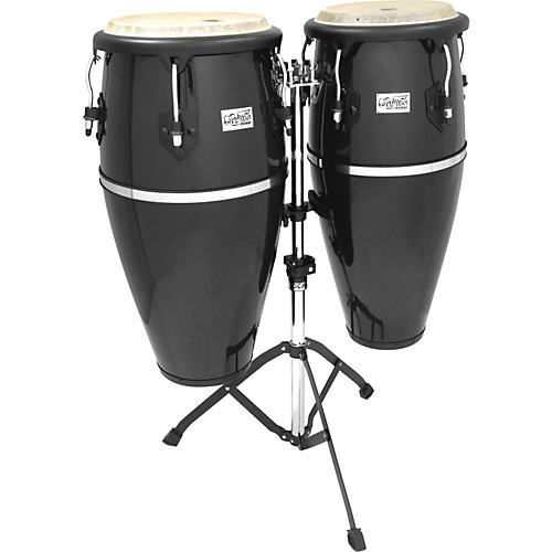 Toca Players Fiberglass Congas W/ Synthetic Heads