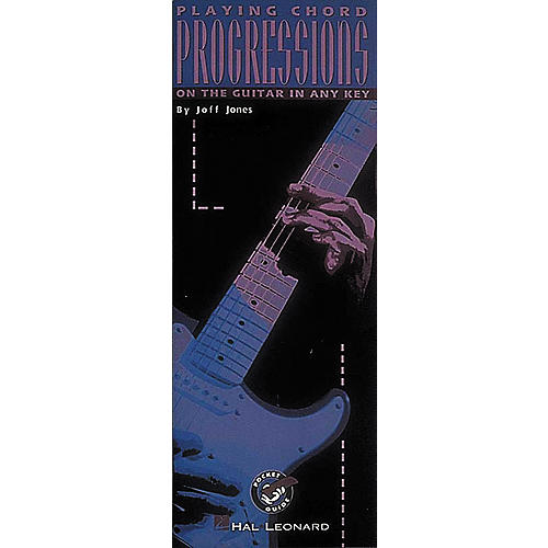 Hal Leonard Playing Chord Progressions On The Guitar In Any Key Book-thumbnail