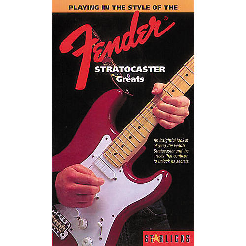 Hal Leonard Playing In The Style Of The Fender Stratocaster Greats Video-thumbnail