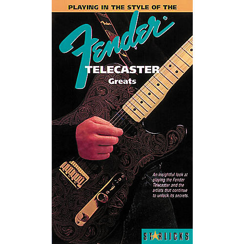 Hal Leonard Playing In The Style Of The Fender Telecasters Greats Video-thumbnail