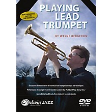 Alfred Playing Lead Trumpet DVD