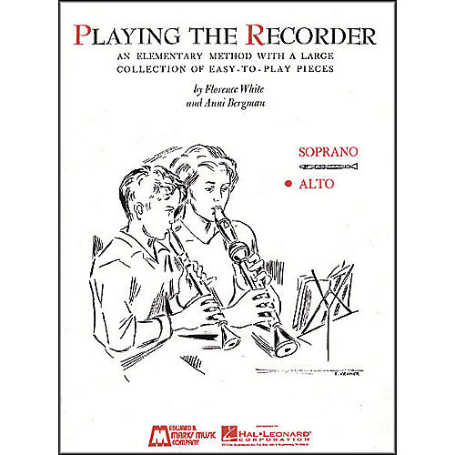 Hal Leonard Playing The Recorder (Alto)-thumbnail