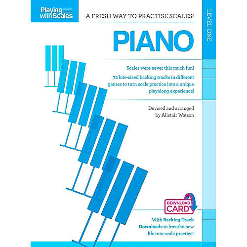Hal Leonard Playing With Scales - Piano Book/Online Audio-thumbnail