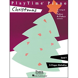 Faber Piano Adventures Playtime Piano Christmas Level 1 F-Finger Melodies -... by Faber Piano Adventures