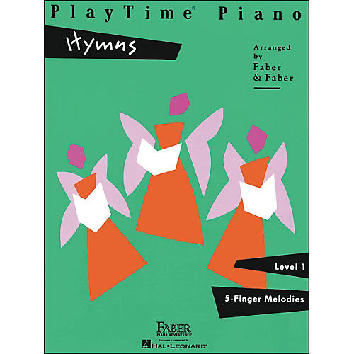 Faber Piano Adventures Playtime Piano Hymns Level 1 5 Finger Melodies - Faber Piano-thumbnail