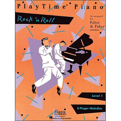 Faber Piano Adventures Playtime Rock N Roll Level 1-thumbnail