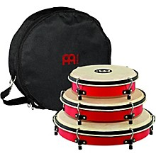 Meinl Plenera Set of 8, 10, & 12 ABS Frames with Goat Skin Heads & Nylon Bag