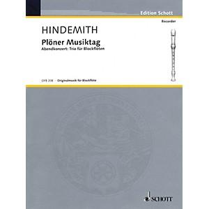 Schott Plöner Musiktag - Evening Concert No. 5 Recorder Trio Woodwind Ens... by Schott