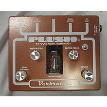 Fuchs Plush Good Verbrations Digital Reverb Effect Pedal