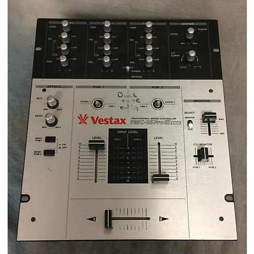 Vestax Pmc05pro III DJ Mixer-thumbnail