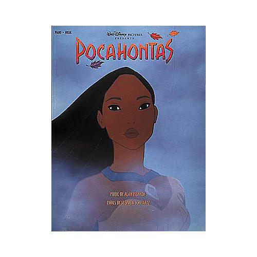 Hal Leonard Pocahontas Piano, Vocal, Guitar Songbook