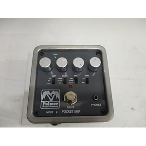 Pre-owned Palmer Pocket Amp Battery Powered Amp by Palmer