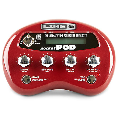 Line 6 Pocket POD Guitar Multi-Effects Processor-thumbnail