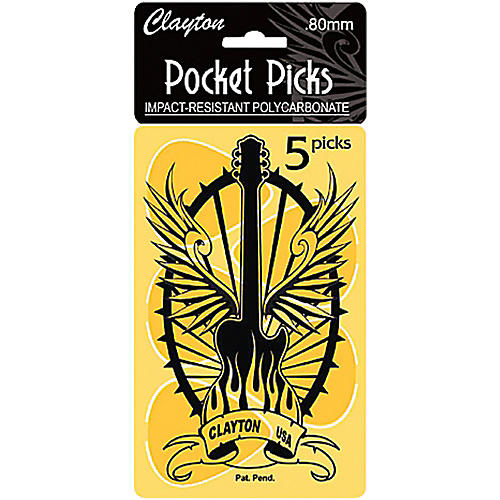 Clayton Pocket Picks Guitar Pick Card-thumbnail
