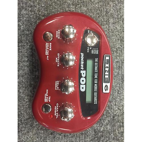 Line 6 Pocket Pod Amp Modeler Effect Processor-thumbnail