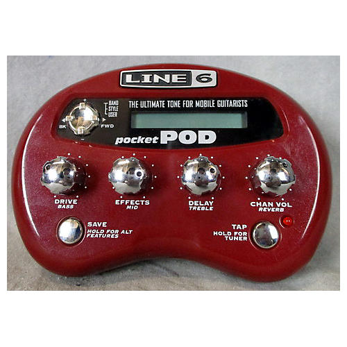 Line 6 Pocket Pod Amp Modeler Effect Processor