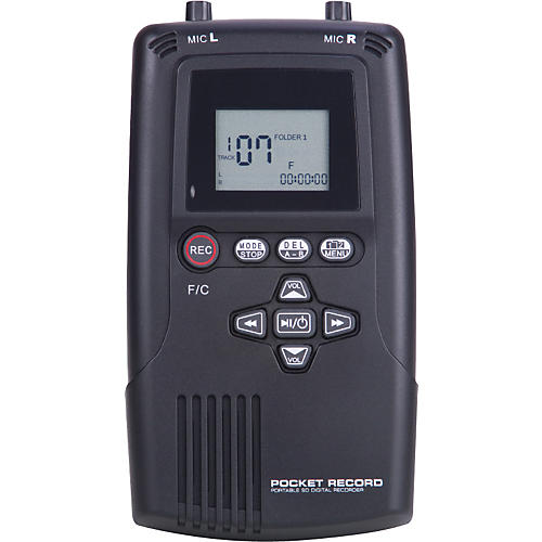 American Audio Pocket Record SD Digital Recorder