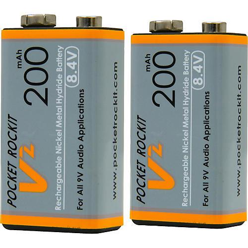 C Tech Pocket Rockit 9V NiMh Batteries (2)