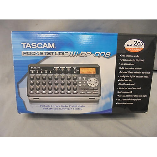 Tascam Pocketstudio DP008 MultiTrack Recorder