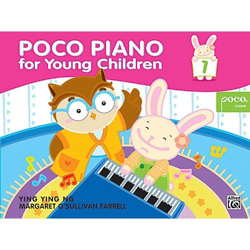 Alfred Poco Piano for Young Children, Book 1