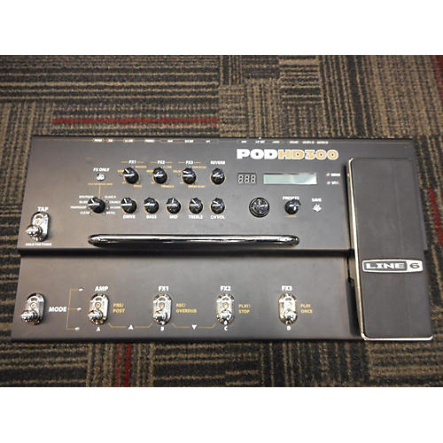 Line 6 Pod HD300 Amp Modeler Effect Processor-thumbnail