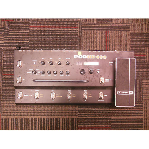 Line 6 Pod HD400 Amp Modeler Effect Processor