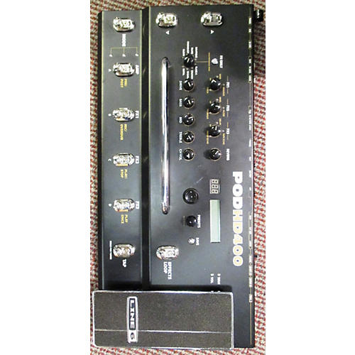 Line 6 Pod HD400 Amp Modeler Effect Processor