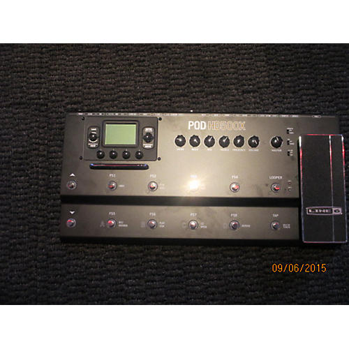 Line 6 Pod HD500X Amp Modeler Black Effect Processor Black