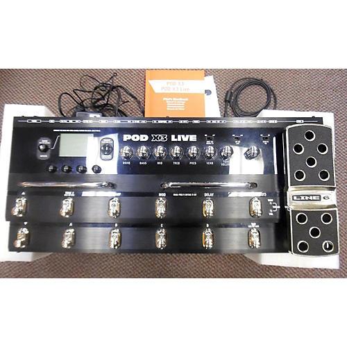 Line 6 Pod X3 Live Amp Modeler Effect Processor