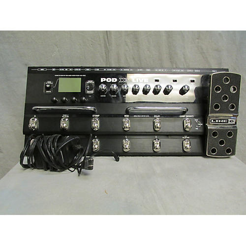 Line 6 Pod X3 Live Amp Modeler Effect Processor-thumbnail