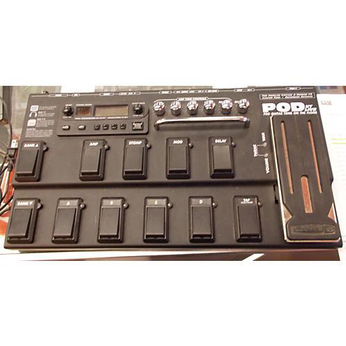 Line 6 Pod XT Live Amp Modeler Black Effect Processor