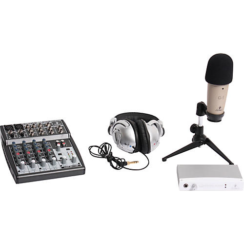 Behringer Podcastudio Bundle with FireWire Interface-thumbnail