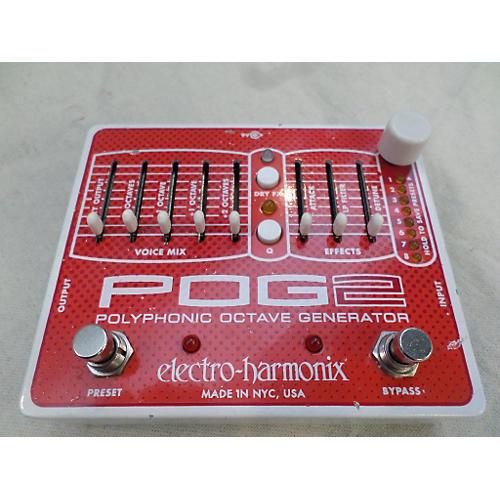Electro-Harmonix Pog2 Polyphonic Octave Generator Effect Pedal-thumbnail